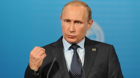 Владимир Путин идет на выборы президента РФ