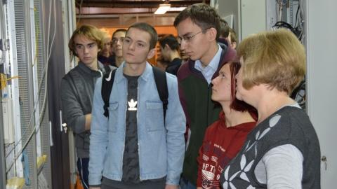 """""""Ростелеком"""" провел экскурсию для студентов Саратовского технического университета"""