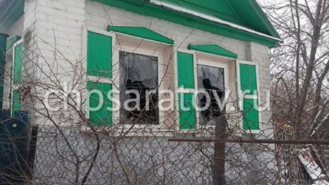 ВСаратове напожаре в личном доме погибла женщина, двое в клинике