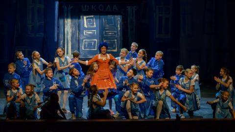 Детская театральная студия ТЮЗа представила новый спектакль