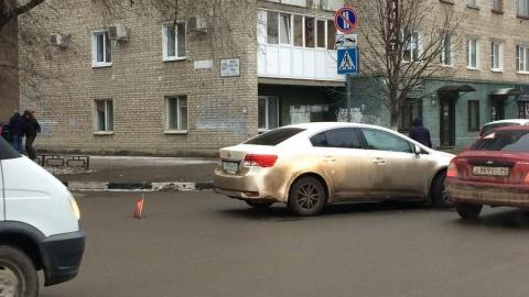 """На Первомайской пожилой водитель """"Тойоты"""" сбил девушку"""