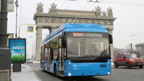 Энгельсские электробусы вышли на маршрут в Санкт-Петербурге