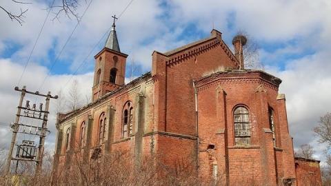 Прокуроры заставили администрацию заняться бесхозной лютеранской церковью