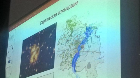 Для установления границ саратовской агломерации предложили использовать световые карты