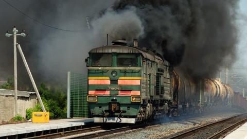 В Ртищево горела кабина машиниста тепловоза