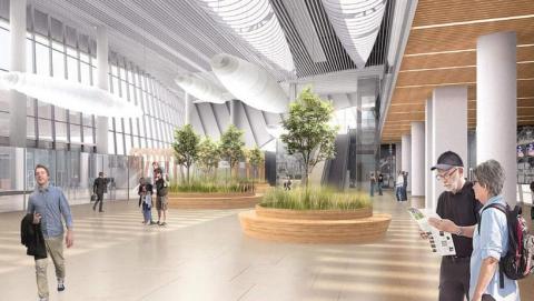В новом саратовском аэропорту возводят третий этаж терминала