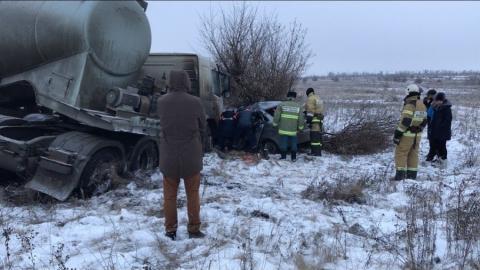 Втройном столкновении натрассе погибла женщина-водитель