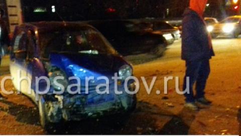 В тройной аварии с машиной такси пострадал трехлетний мальчик