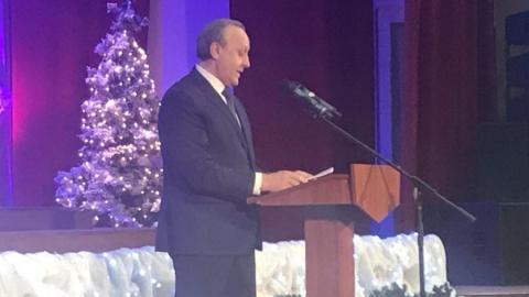 Валерий Радаев поздравил саратовцев с наступающим Новым годом