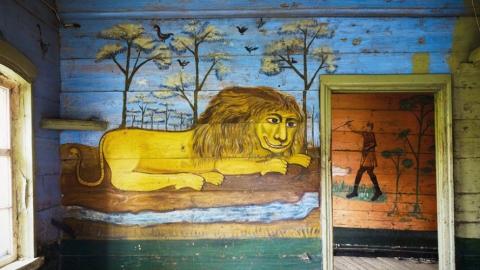 """На реставрацию """"Дома со львом"""" под Саратовом собирают миллион рублей"""