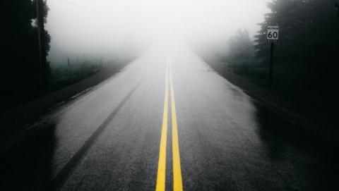Саратовцев предупреждают о тумане и плохой видимости на дорогах