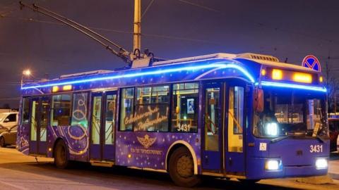 На Новый Год в Саратове будет работать общественный транспорт