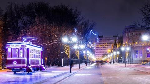 Саратовцев ждут на новогоднем фестивале #Пешком на Волжской