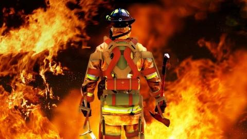 Саратовские пожарные спасли из огня четырех человек за новогодние праздники