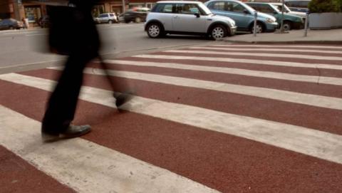 "На Чапаева женщина за рулем ""Киа"" сбила мужчину на переходе"