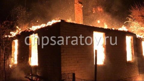 В Дубках на пожаре погиб мужчина