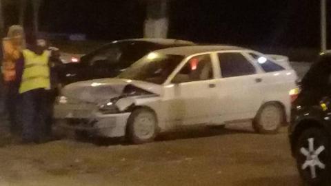 Тройная авария парализовала движение на проспекте 50 лет Октября