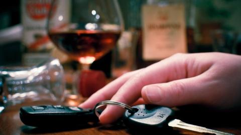 На любителя пьяной езды возбудили уголовное дело