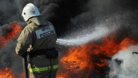В Саратовской области пожарные тушили котел в бойлерной