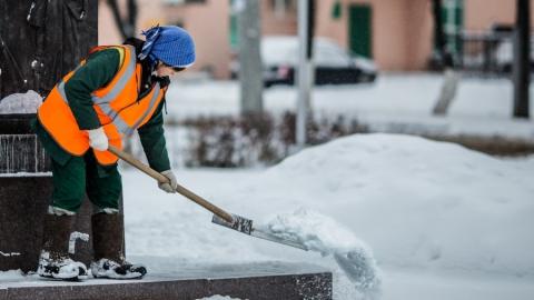 В Саратове час работы дворника стоит порядка 300 рублей