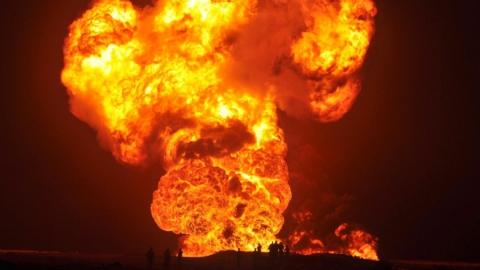 Утечка нефти в Красноармейском произошла из-за снижения давления в нефтепроводе