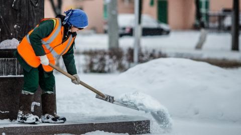В Саратове на уборку улиц от снега вышли 1300 дворников