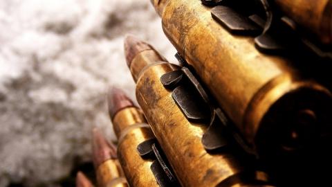 В сарае подозреваемого в убийстве нашли пулеметную ленту