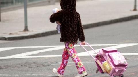 "Автоледи на ""Мицубиси"" сбила ребенка на проспекте 50 лет Октября"