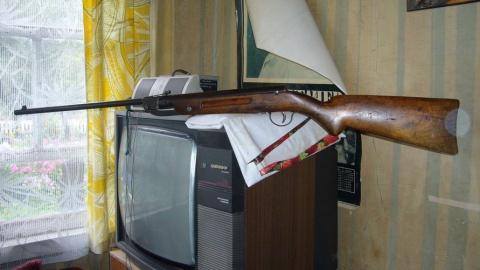 Под Екатериновкой в доме сельчанина нашли наркотики и винтовку