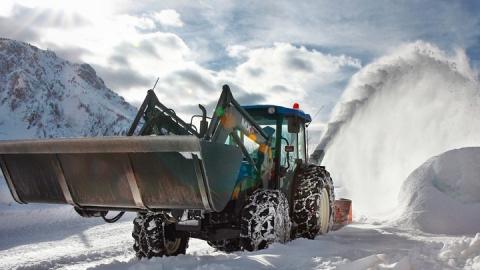 За сутки с улиц Саратова вывезли пять тысяч кубометров снега