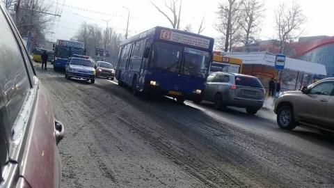 В Саратове вновь произошло ДТП с участием автобуса