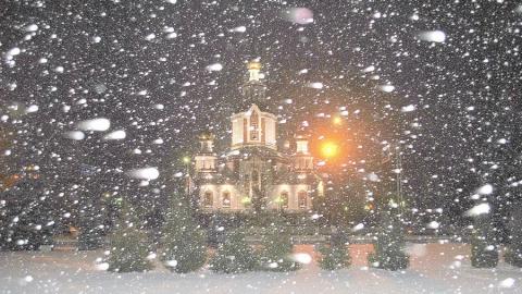 Саратовцам обещают снегопад и до -13 градусов