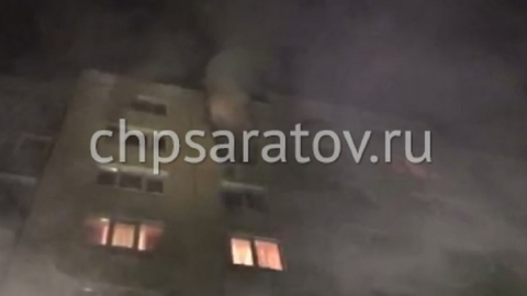 Из горящего дома на Политехнической эвакуировали жильцов всех квартир подъезда