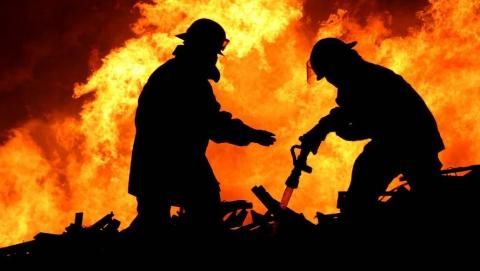 На выходных в Саратовской области произошло более 30 пожаров