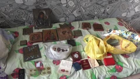 Полиция опубликовала видео задержания ограбивших антиквара саратовцев