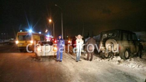 В Саратове на Вольском тракте столкнулись семь машин