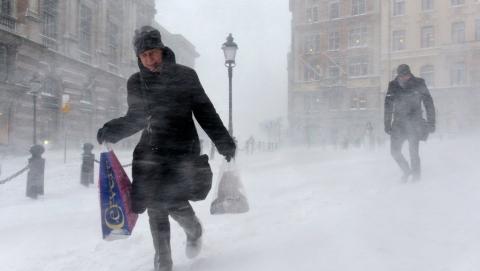 ВУльяновской области предполагается сильный ветер, метель иснегопад— Ухудшение погодных условий