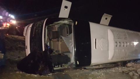 Под Ростовом в аварии с саратовским автобусом погибли четыре человека