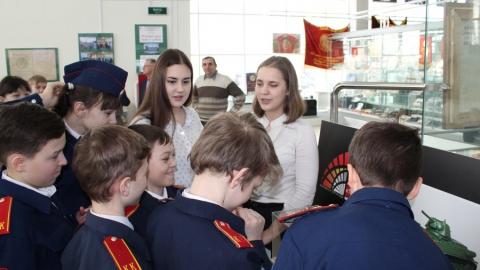 В музее Боевой и Трудовой Славы прошел финал проекта к 75-летию победы в Сталиградской битве