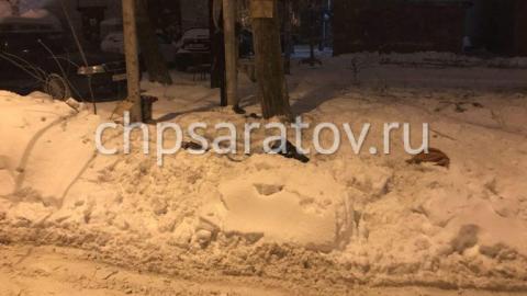 В Саратове пятилетний мальчик провалился в заметенный снегом колодец и погиб