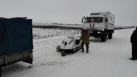 Под Саратовом спасли замерзавшего в поле мужчину