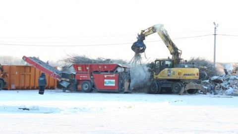 В январе на мусороперерабатывающие комплексы поступило более 30 тысяч кубометров ТКО