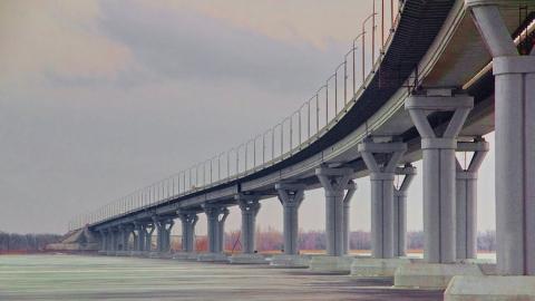 В массовой аварии у нового моста под Энгельсом погибли три человека
