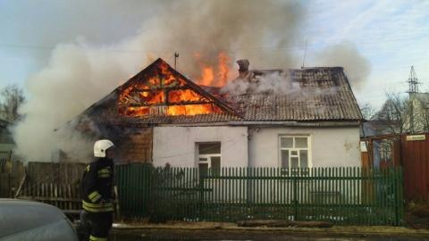 Под Балаково частный дом загорелся из-за неправильной эксплуатации электрического оборудования