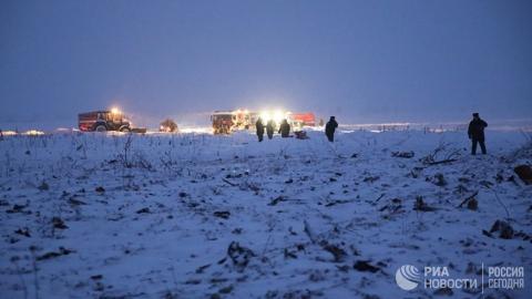 На месте крушения Ан-148 нашли 1,4 тысячи фрагментов тел погибших