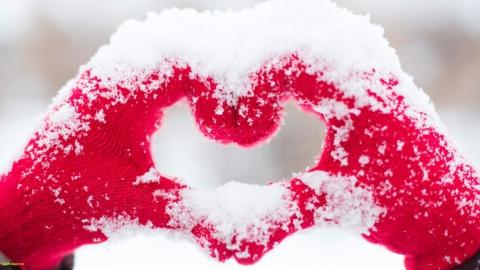 В день влюбленных саратовцам обещают снежную и морозную погоду