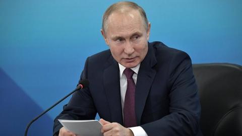 Владимир Путин отменил все ближайшие публичные мероприятия