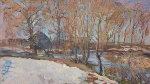 Саратовцев ждут на выставке зимних пейзажей Лады Вальковой