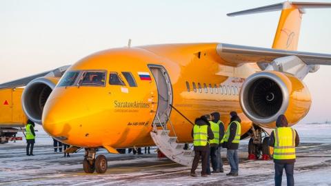 """Компания """"Саратовские авиалинии"""" снова начинает использовать Ан-148"""