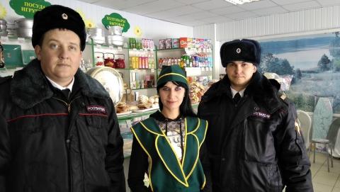 Росгвардейцы потушили пожар в магазине в Новоузенске